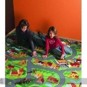 Af Lastenhuoneen Matto Pikku KylÄ 133x133 Cm