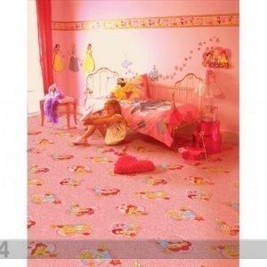 Af Lastenhuoneen Matto Prinsessa 133x133 Cm