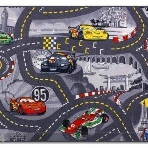 Af Lastenhuoneen Matto World Of Cars 2 133x133 Cm