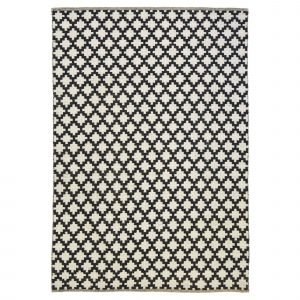 Anno Pandora Villamatto Mustavalkoinen 160x230 Cm