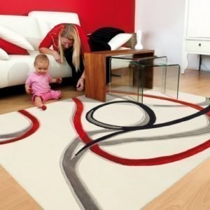 Arte Espina Matto Red Trace 90x160 Cm