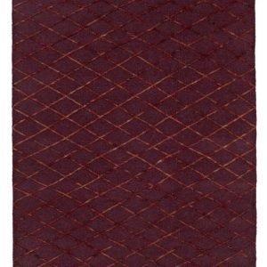 Asti Villamatto 160x240 Cm Viininpunainen