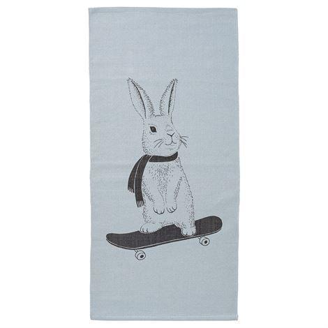 Bloomingville Rabbit On Skateboard Matto 60x120 cm