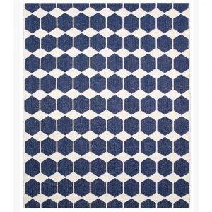 Brita Sweden Anna Matto Denim Blue 150x200 Cm