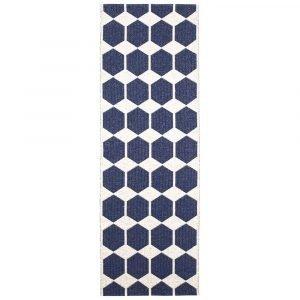 Brita Sweden Anna Matto Denim Blue 70x200 Cm
