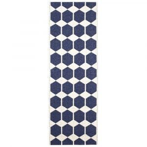 Brita Sweden Anna Matto Denim Blue 70x260 Cm