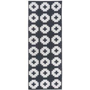 Brita Sweden Flower Matto Beluga 70x150 Cm