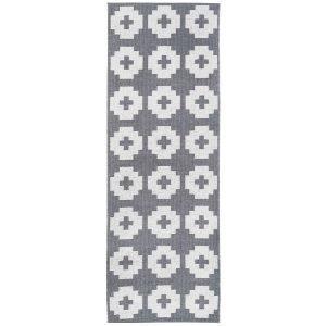 Brita Sweden Flower Matto Stone 70x150 Cm