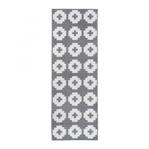 Brita Sweden Flower Matto Stone 70x250 Cm