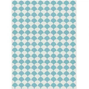 Brita Sweden Gerda Matto Pool Blue 150x200 Cm