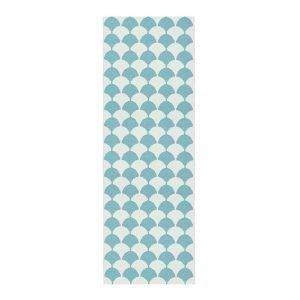 Brita Sweden Gerda Pool Blue Matto Sininen 70x250 Cm