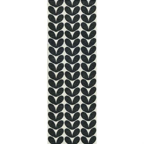 Brita Sweden Karin Matto Musta 70 x 250 cm