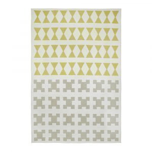 Brita Sweden Paris Matto Yellow / Grey 170x250 Cm