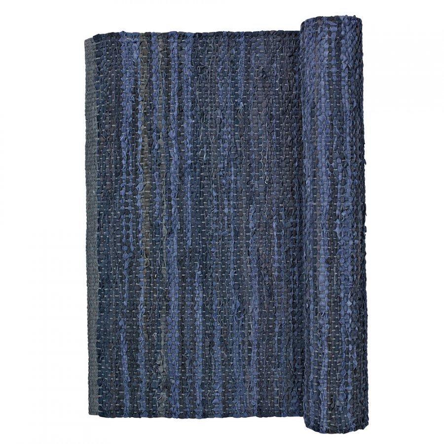 Broste Copenhagen Hammering Matto 80x250 Cm Insignia Blue