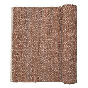 Broste Copenhagen Kamma Matto Red Clay 70x140 Cm