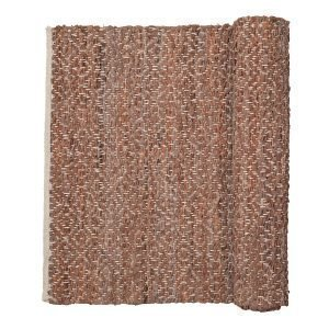 Broste Copenhagen Kamma Matto Red Clay 80x250 Cm