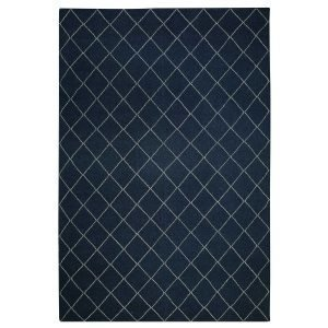 Chhatwal & Jonsson Diamond Matto Blue Melange / Off White 184x280 Cm