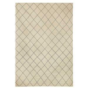 Chhatwal & Jonsson Diamond Matto Offwhite / Grey 184x280 Cm