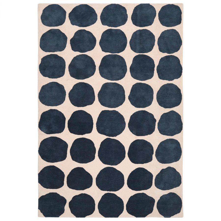 Chhatwal & Jonsson Dots Matto 230x320 Cm Khaki/Sininen Melange