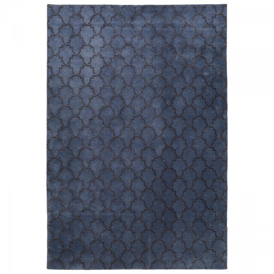 Chhatwal & Jonsson Mahal Matto 230x320 Cm Sininen Melange/Tummanharmaa