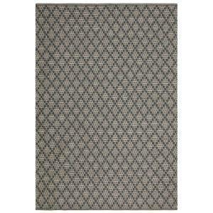 Chhatwal & Jonsson Mitra Matto Charcoal Grey / Light Khaki 170x240 Cm