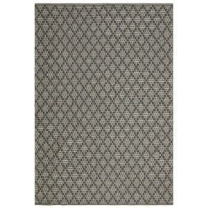 Chhatwal & Jonsson Mitra Matto Charcoal Grey / Light Khaki 80x250 Cm