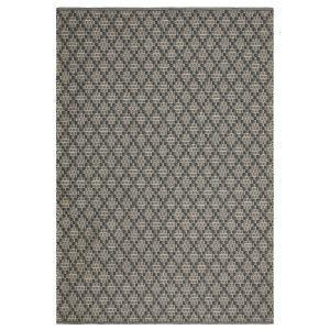 Chhatwal & Jonsson Mitra Matto Charcoal Grey / Light Khaki 80x50 Cm