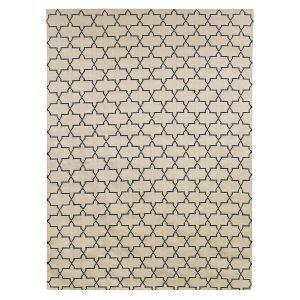 Chhatwal & Jonsson New Geometric Matto Beige / Musta 180x272 Cm