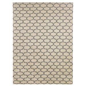 Chhatwal & Jonsson New Geometric Matto Beige / Musta 234x323 Cm