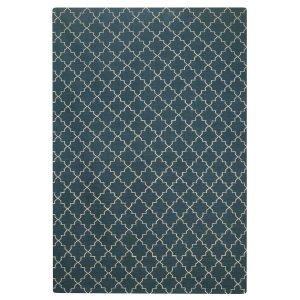 Chhatwal & Jonsson New Geometric Matto Bluemelange / White 180x272 Cm
