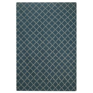Chhatwal & Jonsson New Geometric Matto Bluemelange / White 234x323 Cm