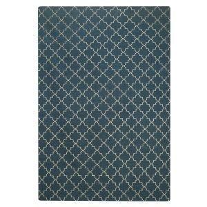 Chhatwal & Jonsson New Geometric Matto Sininen / Valkoinen 180x272 Cm