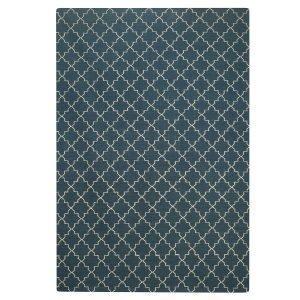 Chhatwal & Jonsson New Geometric Matto Sininen / Valkoinen 234x323 Cm