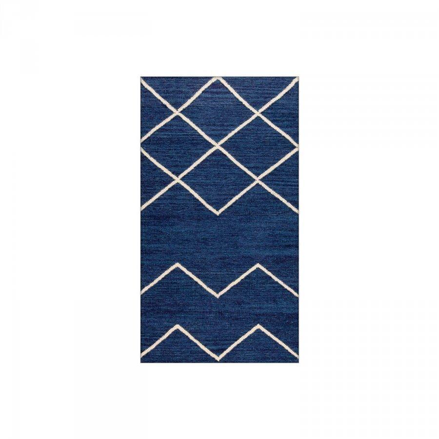 Decotique Geometrie 01 Matto 80x150 Cm Sininen/Offwhite