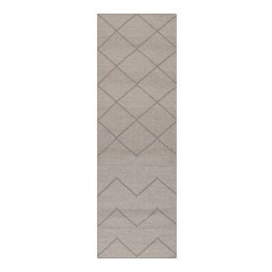 Decotique Geometrie 01 Matto Harmaa 80x240 Cm