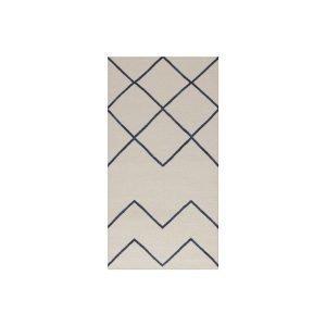 Decotique Geometrie 01 Matto Offwhite / Sininen 80x150 Cm