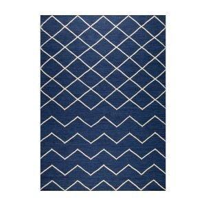 Decotique Geometrie 01 Matto Sininen / Offwhite 170x240 Cm