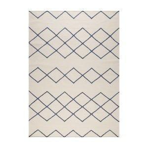 Decotique Geometrie 03 Matto Offwhite / Sininen 200x300 Cm