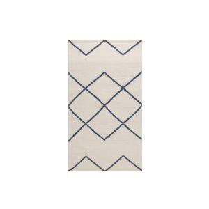 Decotique Geometrie 03 Matto Offwhite / Sininen 80x150 Cm