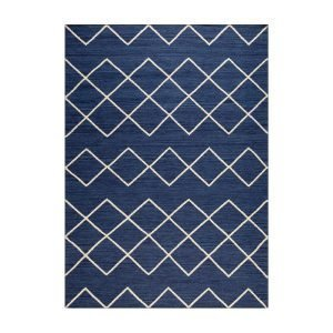 Decotique Geometrie 03 Matto Sininen / Offwhite 170x240 Cm