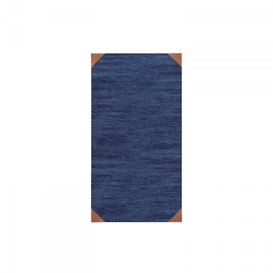 Decotique Le Cuir Bleu Matto 80x150 Cm Sininen