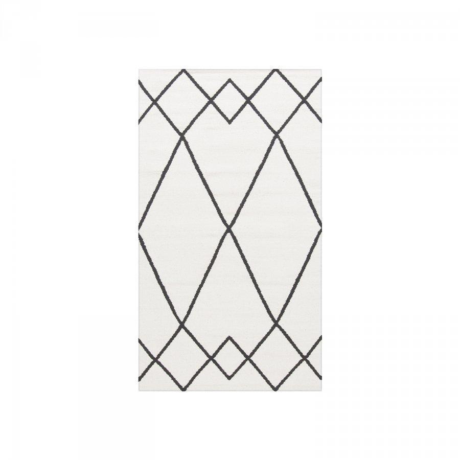 Decotique Le Milieu Matto 80x150 Cm Valkoinen/Musta