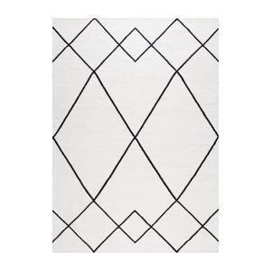 Decotique Le Milieu Matto Valkoinen / Musta 170x240 Cm