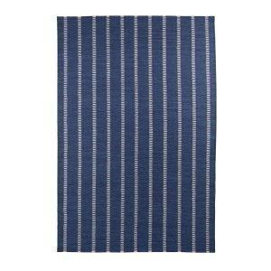 Decotique Tapis Bleu Rayé Matto Sininen / Beige 200x300 Cm
