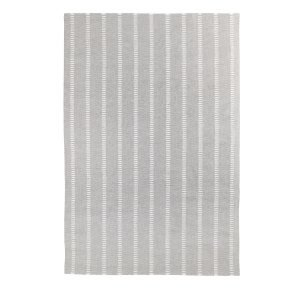 Decotique Tapis Cendre Rayé Matto Harmaa / Valkoinen 200x300 Cm