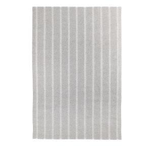 Decotique Tapis Cendre Rayé Matto Harmaa / Valkoinen 300x400 Cm