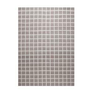 Decotique Tapis Damier Matto Harmaa / Valkoinen 200x300 Cm