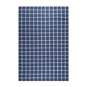 Decotique Tapis Damier Matto Sininen / Beige 170x240 Cm