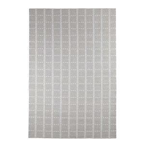 Decotique Tiret Cendre Matto Harmaa / Valkoinen 200x300 Cm