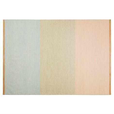 Design House Stockholm Fields Matto 170x240 cm Vaaleanpunainen-Beige-Sininen